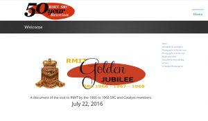 Homepage of SRC reunion website